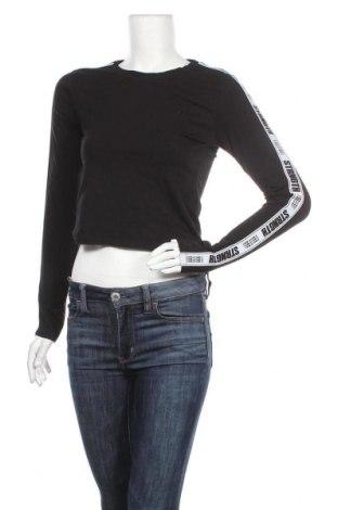 Дамска блуза Fb Sister, Размер M, Цвят Черен, 95% памук, 5% еластан, Цена 17,85лв.