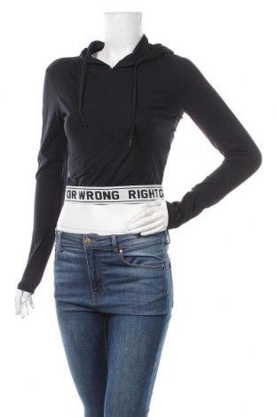 Дамска блуза Fb Sister, Размер M, Цвят Черен, 95% памук, 5% еластан, Цена 16,80лв.