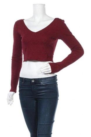 Дамска блуза Forever 21, Размер M, Цвят Червен, 53% памук, 43% полиестер, 4% еластан, Цена 18,90лв.