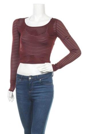 Дамска блуза Forever 21, Размер S, Цвят Червен, 90% полиестер, 10% еластан, Цена 18,90лв.