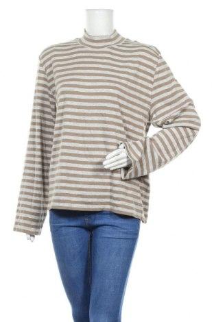 Дамска блуза Franco Callegari, Размер XXL, Цвят Сив, 60% памук, 30% полиестер, 5% еластан, 5% вискоза, Цена 9,24лв.