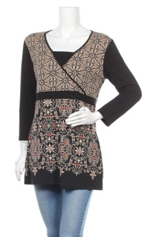 Дамска блуза G.W., Размер L, Цвят Многоцветен, Цена 25,20лв.