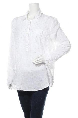 Дамска блуза Gap, Размер XL, Цвят Бял, 99% памук, 1% други материали, Цена 29,40лв.