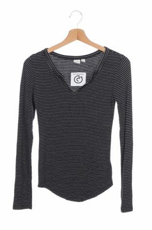 Дамска блуза Gap, Размер XS, Цвят Черен, 96% модал, 4% еластан, Цена 17,96лв.
