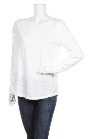 Дамска блуза Gap, Размер L, Цвят Бял, Памук, Цена 18,90лв.