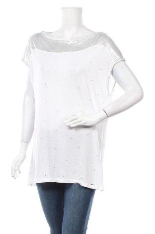 Дамска блуза Gas, Размер L, Цвят Бял, Полиестер, вискоза, Цена 11,03лв.