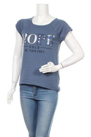 Дамска блуза Gate Woman, Размер M, Цвят Син, Цена 13,44лв.