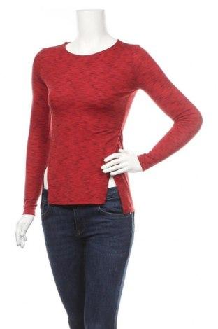 Дамска блуза Gate Woman, Размер XS, Цвят Червен, 90% полиестер, 9% вискоза, 5% еластан, Цена 17,85лв.