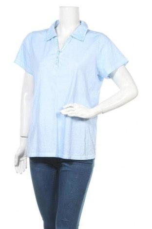 Γυναικείο t-shirt Gina Laura, Μέγεθος XL, Χρώμα Μπλέ, Τιμή 3,55€