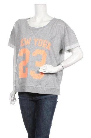 Дамска блуза Girl Xpress, Размер XXL, Цвят Сив, Полиестер, памук, Цена 9,82лв.
