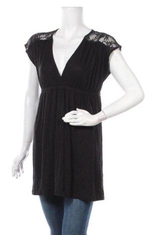 Дамска блуза Girl Xpress, Размер XL, Цвят Черен, Полиестер, еластан, Цена 16,96лв.