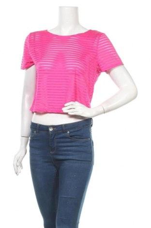 Дамска блуза Girl Xpress, Размер XL, Цвят Розов, Полиестер, полиамид, еластан, Цена 9,24лв.