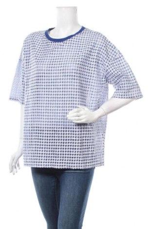Дамска блуза Glamorous, Размер M, Цвят Син, 100% полиестер, Цена 15,75лв.