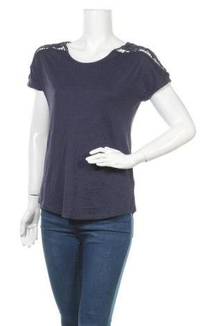 Дамска блуза Grain De Malice, Размер M, Цвят Син, 53% памук, 47% модал, Цена 15,75лв.