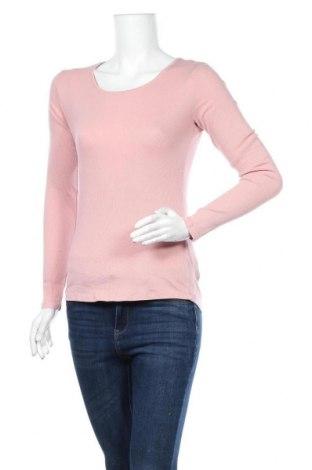 Дамска блуза H&M L.O.G.G., Размер M, Цвят Розов, 95% памук, 5% еластан, Цена 17,85лв.