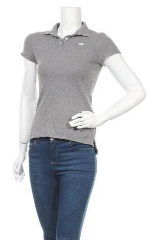 Дамска блуза Hollister, Размер S, Цвят Сив, 96% памук, 4% еластан, Цена 14,70лв.
