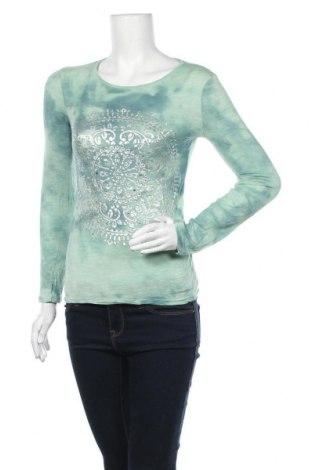 Дамска блуза INC International Concepts, Размер S, Цвят Зелен, Вискоза, Цена 28,35лв.
