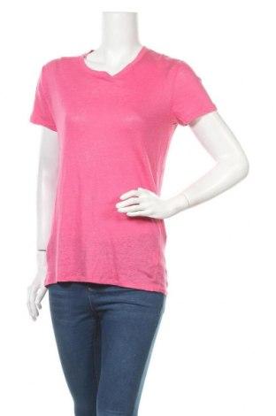 Дамска блуза Iro, Размер XS, Цвят Розов, Лен, Цена 107,70лв.