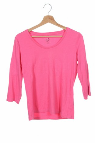 Дамска блуза Isaac Mizrahi, Размер XXS, Цвят Розов, 57% памук, 38% модал, 5% еластан, Цена 15,12лв.