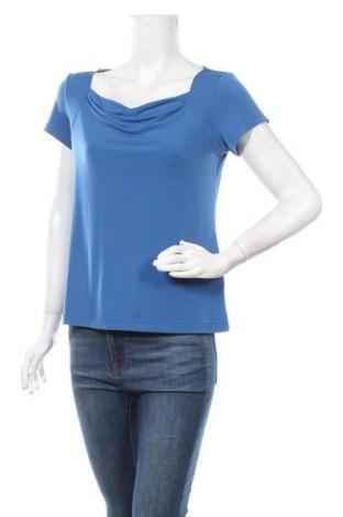 Дамска блуза Jaclyn Smith, Размер S, Цвят Син, 95% полиестер, 5% еластан, Цена 14,70лв.