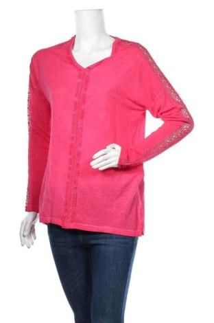 Дамска блуза Janina, Размер L, Цвят Розов, Вискоза, Цена 15,75лв.