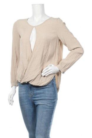 Γυναικεία μπλούζα Jones, Μέγεθος S, Χρώμα  Μπέζ, Βισκόζη, Τιμή 18,51€
