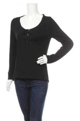 Дамска блуза Kei-Bix-Kei, Размер XL, Цвят Черен, 92% памук, 8% еластан, Цена 11,60лв.