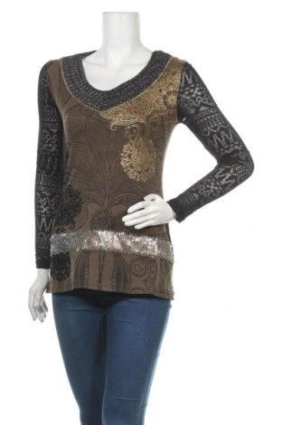 Дамска блуза Koroshi, Размер XS, Цвят Многоцветен, Памук, Цена 12,42лв.