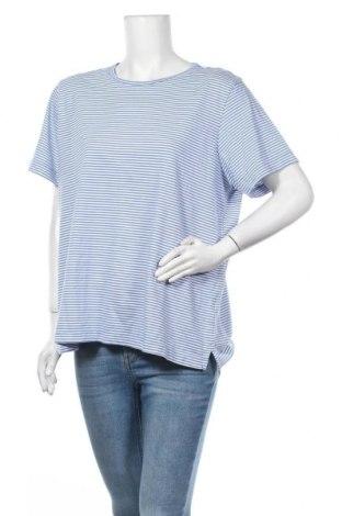 Дамска блуза Land's End, Размер XL, Цвят Син, Памук, Цена 17,85лв.