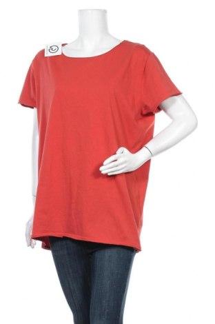 Дамска блуза Lawrence Grey, Размер XL, Цвят Червен, Памук, Цена 57,67лв.