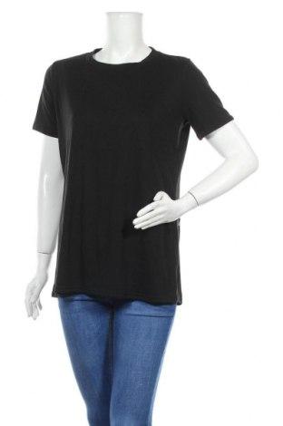 Γυναικεία μπλούζα Lesara, Μέγεθος L, Χρώμα Μαύρο, 60% βαμβάκι, 40% πολυεστέρας, Τιμή 11,40€