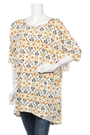 Дамска блуза LulaRoe, Размер XL, Цвят Бежов, 95% полиестер, 5% еластан, Цена 18,48лв.