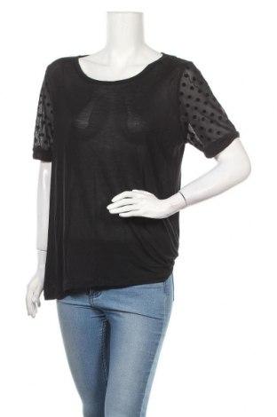 Γυναικεία μπλούζα Maison Scotch, Μέγεθος L, Χρώμα Μαύρο, Τιμή 17,05€