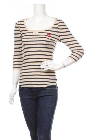 Γυναικεία μπλούζα Maison Scotch, Μέγεθος S, Χρώμα  Μπέζ, Βαμβάκι, Τιμή 22,21€