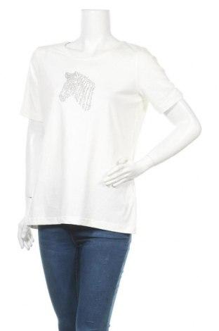 Дамска блуза Marco Pecci, Размер XL, Цвят Бял, 95% памук, 5% еластан, Цена 14,96лв.