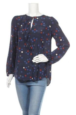 Дамска блуза Marella, Размер L, Цвят Син, Коприна, Цена 60,75лв.