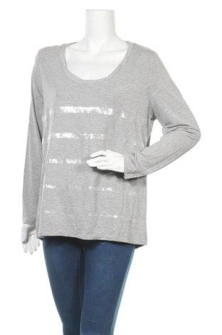 Γυναικεία μπλούζα Margittes, Μέγεθος XL, Χρώμα Γκρί, 95% βαμβάκι, 5% ελαστάνη, Τιμή 14,35€
