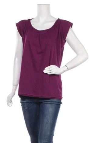 Дамска блуза Mark Adam, Размер XL, Цвят Лилав, Памук, Цена 12,60лв.