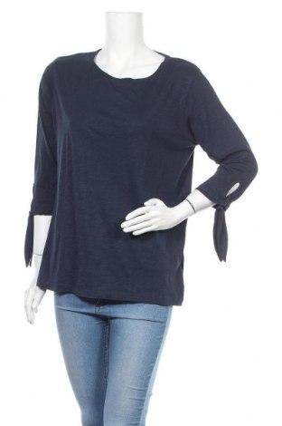 Дамска блуза Mark Adam, Размер XL, Цвят Син, 50% памук, 50% модал, Цена 11,34лв.