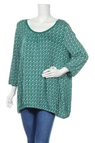 Дамска блуза Mark Adam, Размер XL, Цвят Зелен, Вискоза, Цена 18,90лв.
