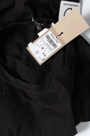 Дамска тениска Massimo Dutti, Размер M, Цвят Черен, Памук, Цена 23,40лв.