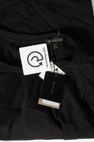 Дамска тениска Massimo Dutti, Размер XS, Цвят Черен, Памук, Цена 23,40лв.