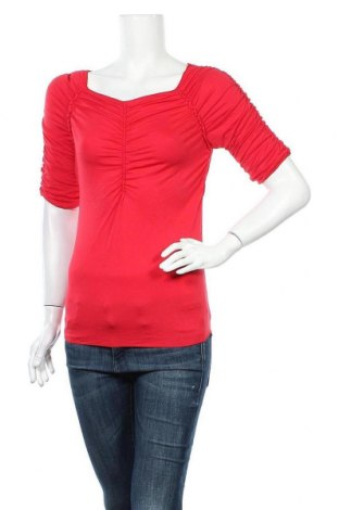 Γυναικεία μπλούζα Max Studio, Μέγεθος M, Χρώμα Κόκκινο, 92% βισκόζη, 8% ελαστάνη, Τιμή 20,46€