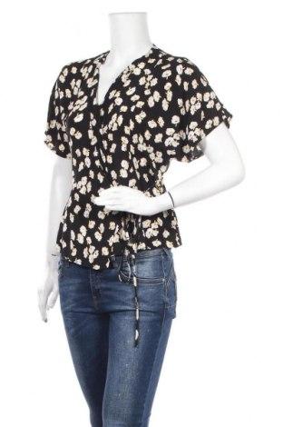 Дамска блуза Mbym, Размер L, Цвят Черен, Вискоза, Цена 17,85лв.