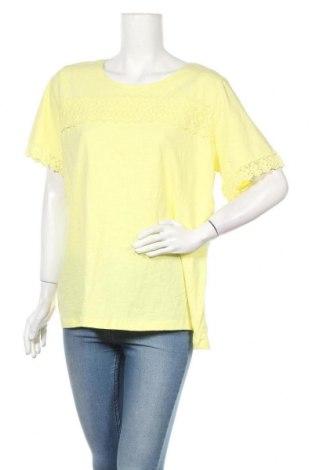 Дамска блуза Millers, Размер XXL, Цвят Жълт, Памук, Цена 29,40лв.