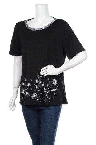 Дамска блуза Millers, Размер XXL, Цвят Черен, 65% полиестер, 35% памук, Цена 29,40лв.