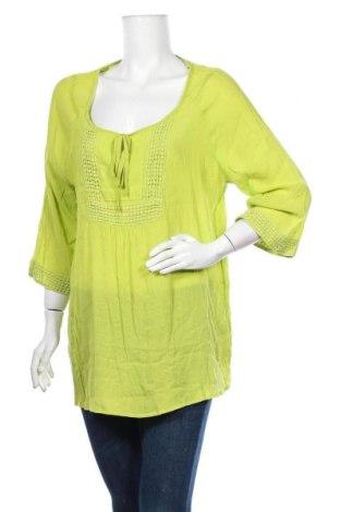 Дамска блуза Millers, Размер XXL, Цвят Зелен, Вискоза, полиестер, Цена 17,85лв.