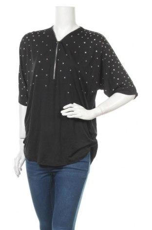 Дамска блуза Millers, Размер XL, Цвят Черен, 95% полиестер, 5% еластан, Цена 16,96лв.