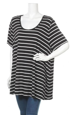 Γυναικεία μπλούζα Mink, Μέγεθος L, Χρώμα Μαύρο, 95% βισκόζη, 5% ελαστάνη, Τιμή 6,82€
