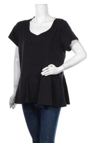 Γυναικεία μπλούζα Mink, Μέγεθος M, Χρώμα Μαύρο, 95% βαμβάκι, 5% ελαστάνη, Τιμή 5,91€